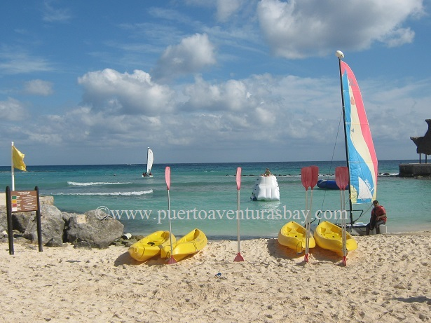 most popular beach family activities in Puerto Aventuras, Mexico